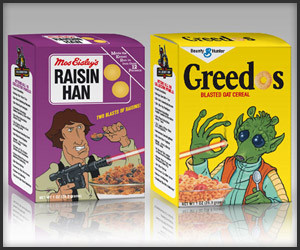 Mini Star Wars Cereal Boxes