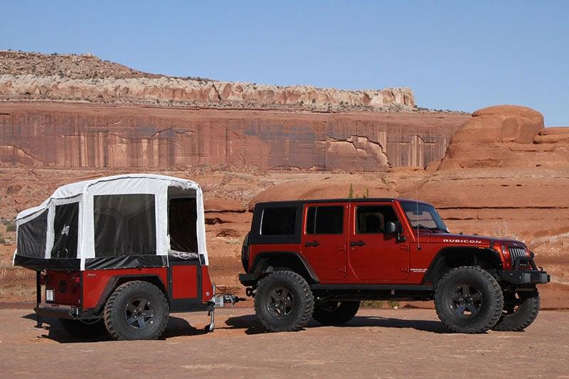 Mopar Jeep Camper Trailers