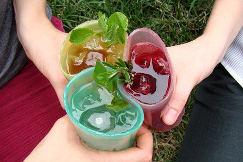 Jelloware Drinking Glasses