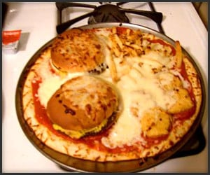 Value Meal in a Pizza