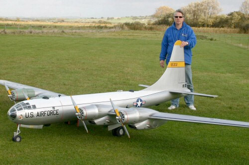 Backyard B-50 Bomber