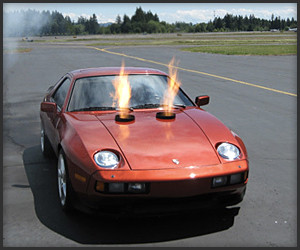 Porsche 928 with Jet Engine