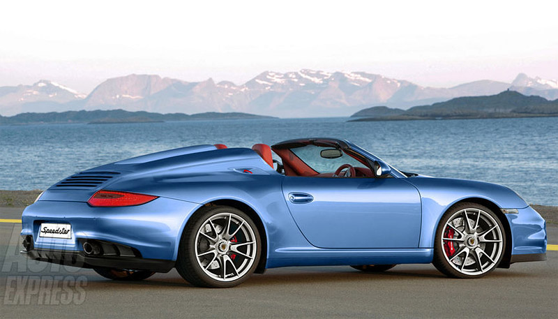 2011 Porsche 911 Speedster The Awesomer