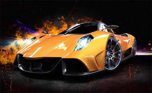 AMV-R Concept Supercar