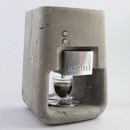 Concrete Espresso Machine