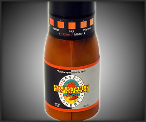Adjustable Heat Hot Sauce