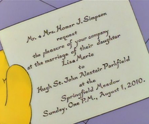 Lisa Simpson's Wedding Day