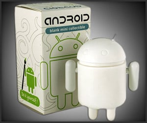 Paintable Android Figurines