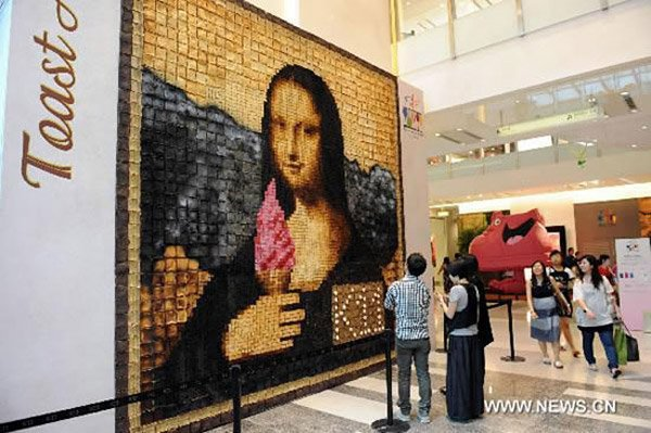 Burnt Toast Mona Lisa