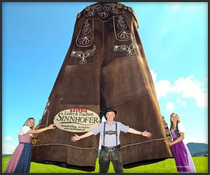 World's Largest Lederhosen