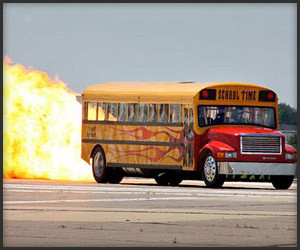 Jet-Powered Schoolbus