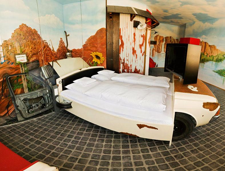 The V8 Hotel