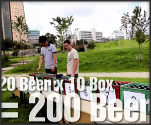 200 Beers, 80 Seconds