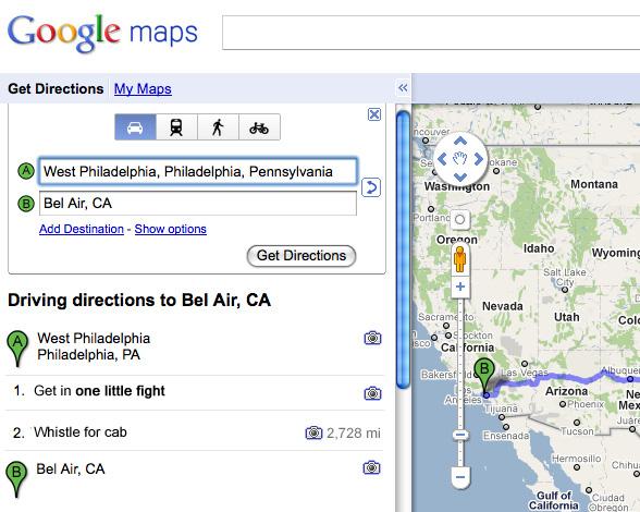 Google Maps x Song Lyrics