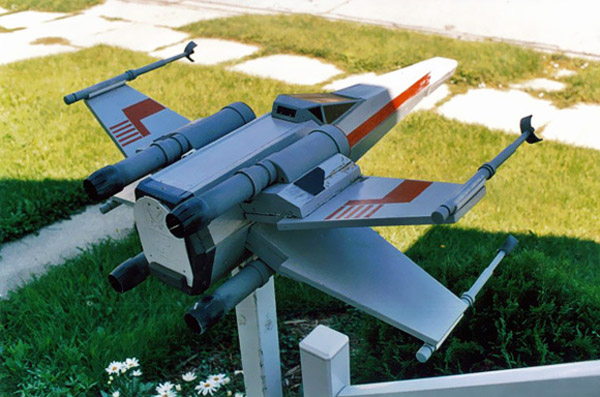 X-Wing Mailbox