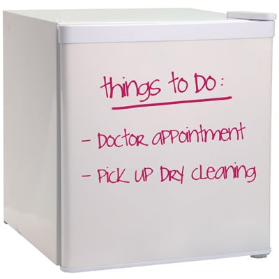 Haier Dry-Erase Write-On Fridge