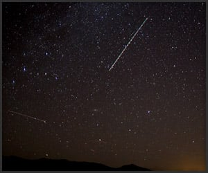 Meteor Shower Time Lapse