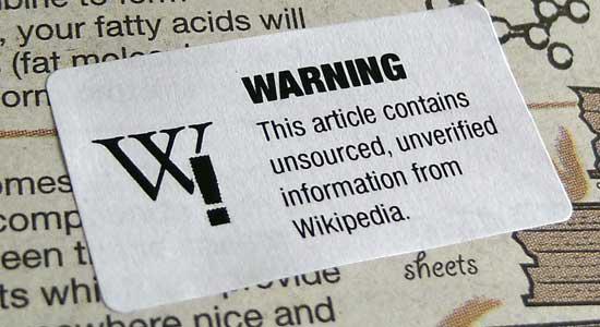 Journalism Warning Labels