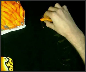 Painting With Cheetos