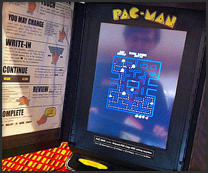 Pac-Man Voting Booth