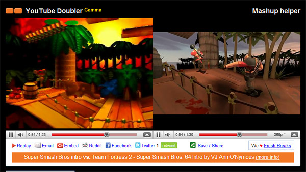 YouTube Doubler