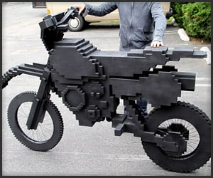 ExciteBike Pixel Bike