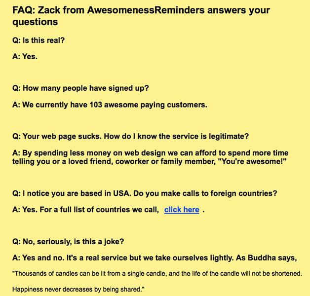 AwesomenessReminders
