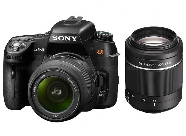 Sony a560 DSLR