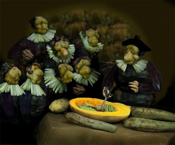 Painting with Veggies