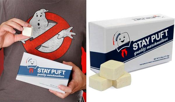 Stay Puft Caffeine Marshmallows
