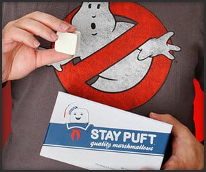 Stay Puft Caffeine Marshmallows