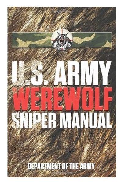 Army Werewolf Sniper Manual
