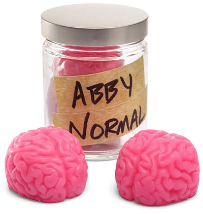 Abby Normal Brain Soap
