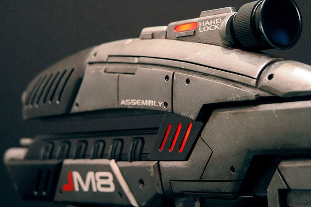 Mass Effect M8 Rifle Replica