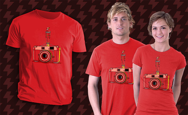 Flash Camera T-Shirt