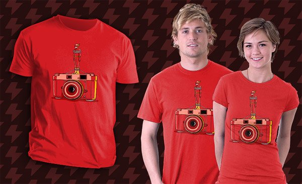 Flash Camera T-Shirt