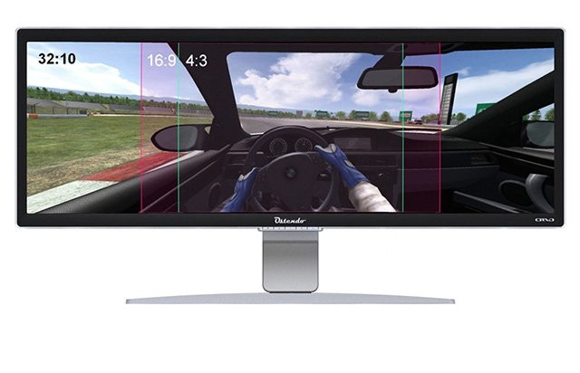 Ostendotech 43″ Curved Display