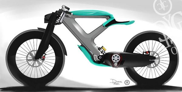 Cycleton One Motorbike