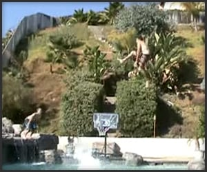 Pool Slam Dunks