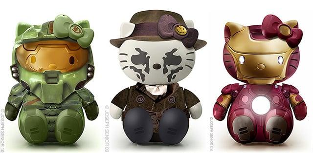 Hello Kitty Mashups