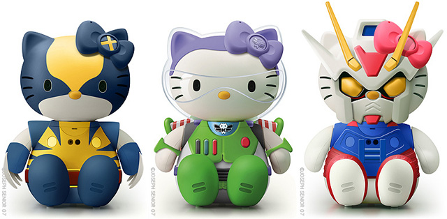 Hello Kitty Mashups