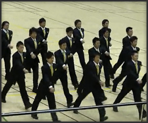 Japanese Synchronized Marching