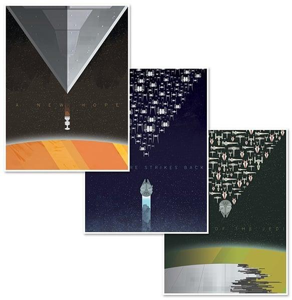 Minimalist Star Wars Posters