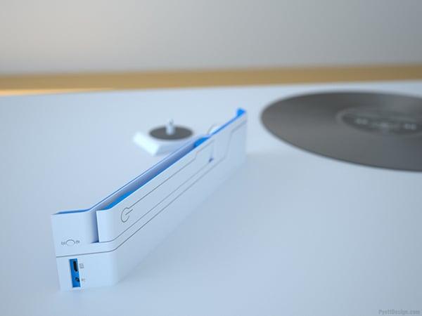 Linos Record Player Concept