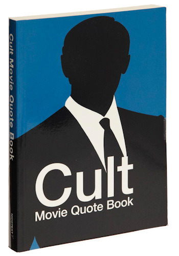 Cult Movie Quote Book