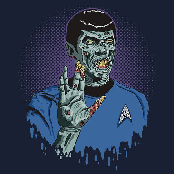 Live Long and… Brains!! T-Shirt