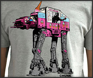 AT-AT Ice Cream Truck T-Shirt