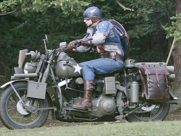 Capt. America: The Movie (Pics)