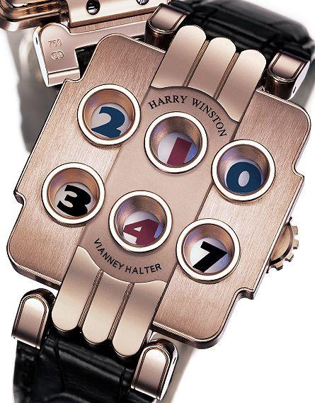 Harry Winston Opus 3 Watch
