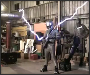 Tesla Coil Iron Man